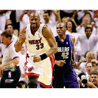 Alonzo Mourning Game 4 of the 2006 NBA Finals Photo Print