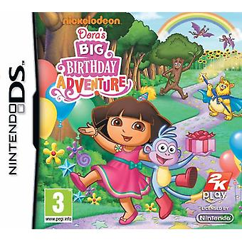 Doras Big Birthday Adventure (Nintendo DS) - Factory Sealed