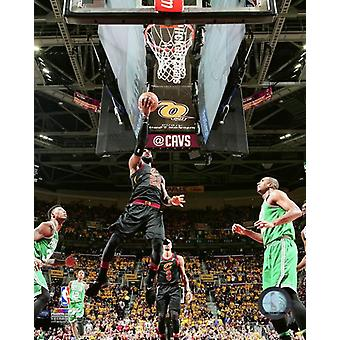 LeBron James in Game 4 of the 2018 NBA Eastern Conference Finals Photo Print