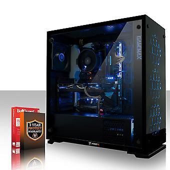 Fierce APACHE Gaming PC, Fast Intel Core i7 7700 4.2GHz, 1TB HDD, 8GB RAM, GTX 1050 Ti 4GB