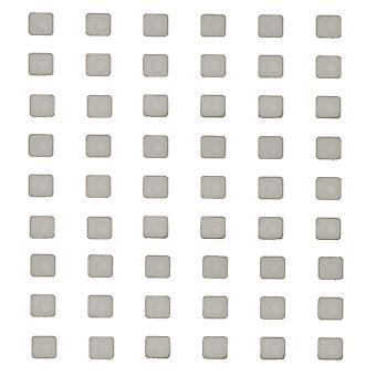 Vit silikon gummi Spacer för iPhone 7
