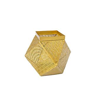 GOLD BASKET TRAY VASE STORAGE BASKET DECORATION DECORATION BOX