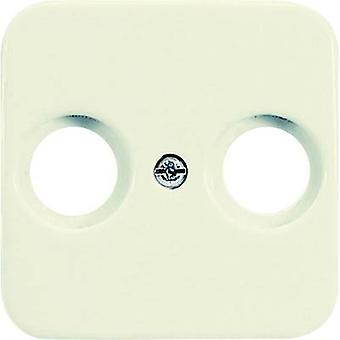 Busch-Jaeger Cover TV, Radio socket Duro 2000 SI, Duro 2000 SI Linear Cream-white 2531-212