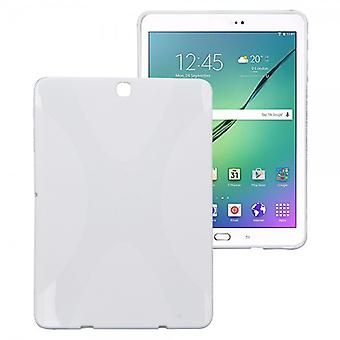 Silikon case for Samsung Galaxy tab S2 hvitt 9,7 T810 T815N