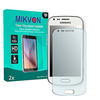 Samsung S7560M Screen Protector - Mikvon Clear (Retail Package with accessories)