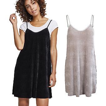 Urban classics dames - slip robe de velours