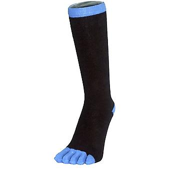 TOETOE Business Toe Socks - Black/Blue
