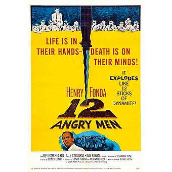 Twelve Angry Men Movie Poster (11 x 17)