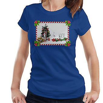 Ursprungliga Stormtrooper julgran Sockertopp Slide Women's T-Shirt