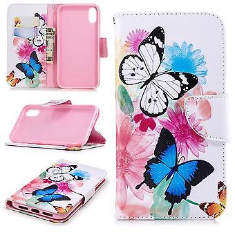 iPhone XR Wallet Case-Schmetterlinge