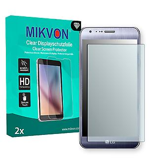 LG X cam Screen Protector - Mikvon Clear (Retail Package with accessories) (reduced foil)