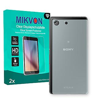 Sony Xperia M5 reverse Screen Protector - Mikvon Clear (Retail Package with accessories)