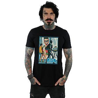 DC Comics Men's Batman TV Series Dynamic Duo T-Shirt