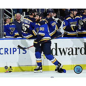 Ryan OReilly 2018-19 Action Photo Print