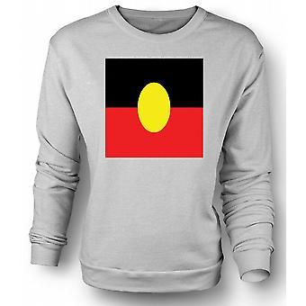 Kids Sweatshirt Australian Aboriginal Flag