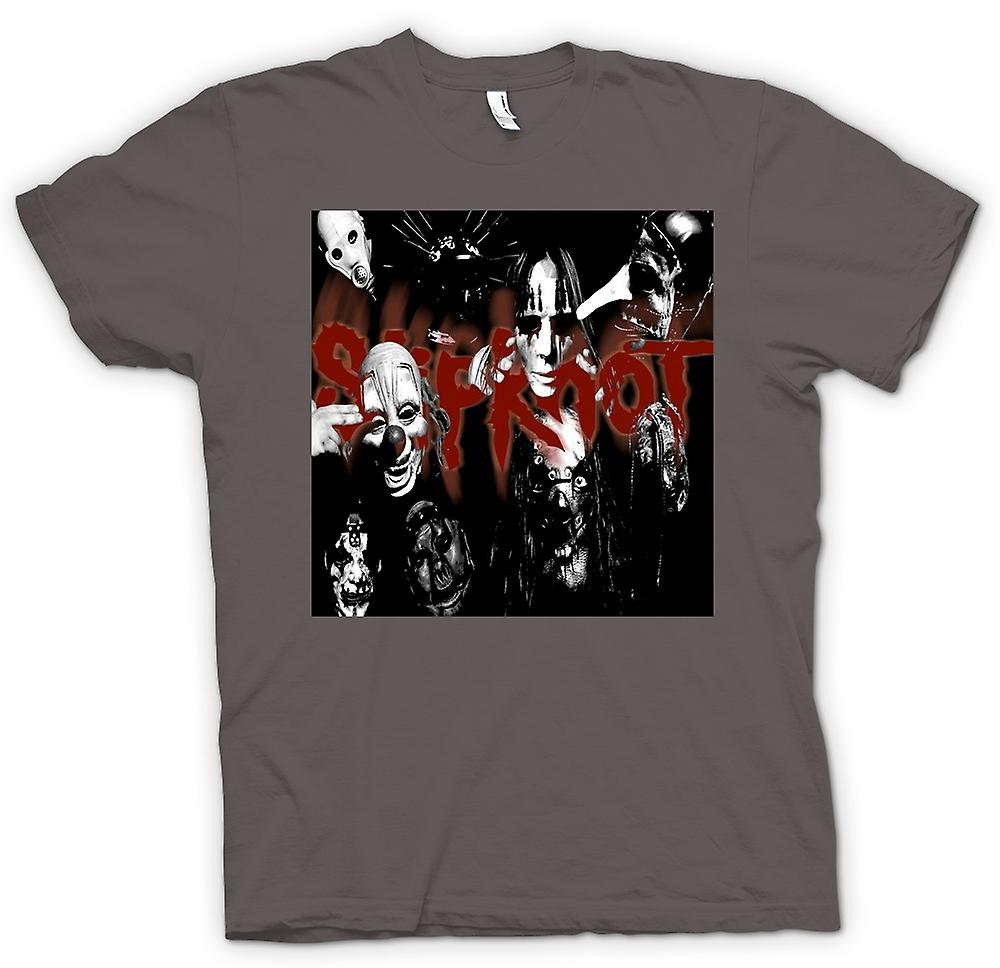 Mens t-skjorte - Slipknot - Heavy Metal-bandet