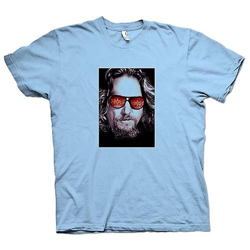 Mens T-shirt - Bridges - Big Lebowski - Brillen