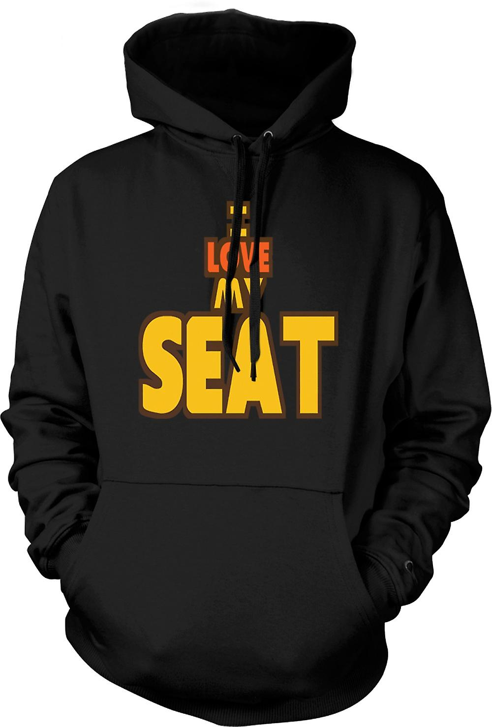 Kids Hoodie - I Love My Seat - Car Enthusiast