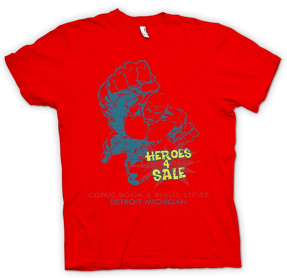 Mens T-shirt - Heroes 4 Sale - Comic Book Music Store - True Romance
