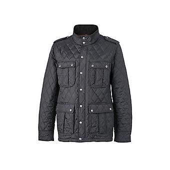 James and Nicholson Mens Diamond Quilted Jacket