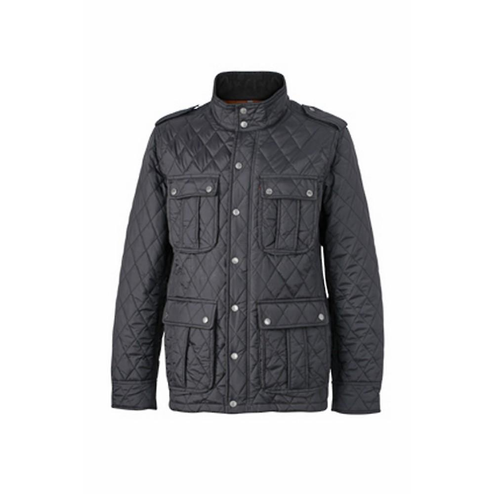James and Nicholson Pour des hommes Diamond Quilted veste