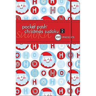 Bolso chique Natal Sudoku Puzzles 2-100 pela sociedade de quebra-cabeça - 9