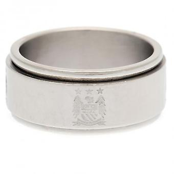 Manchester City Spinner Ring Medium EC