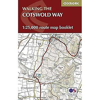 Cotswold sätt karta häfte: 1:25,000 OS rutt kartläggning (Cicerone Guide)