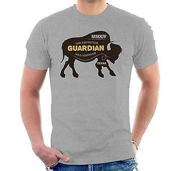 Bison beskrivelse mænd T-Shirt