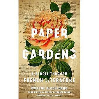 Paper Gardens: A Stroll Through French Literature