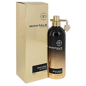 Montale Spicy Aoud by Montale Eau De Parfum Spray (Unisex) 3.4 oz / 100 ml (Women)