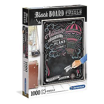 Blackboard Travel Jigsaw Puzzle (1000 Pieces)