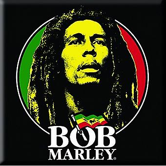 Bob Marley Face steel fridge magnet    (ro)