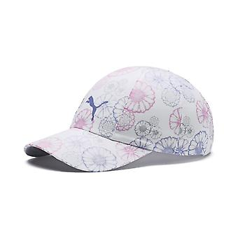 PUMA W's Daily Cap ladies Cap bright white-floral