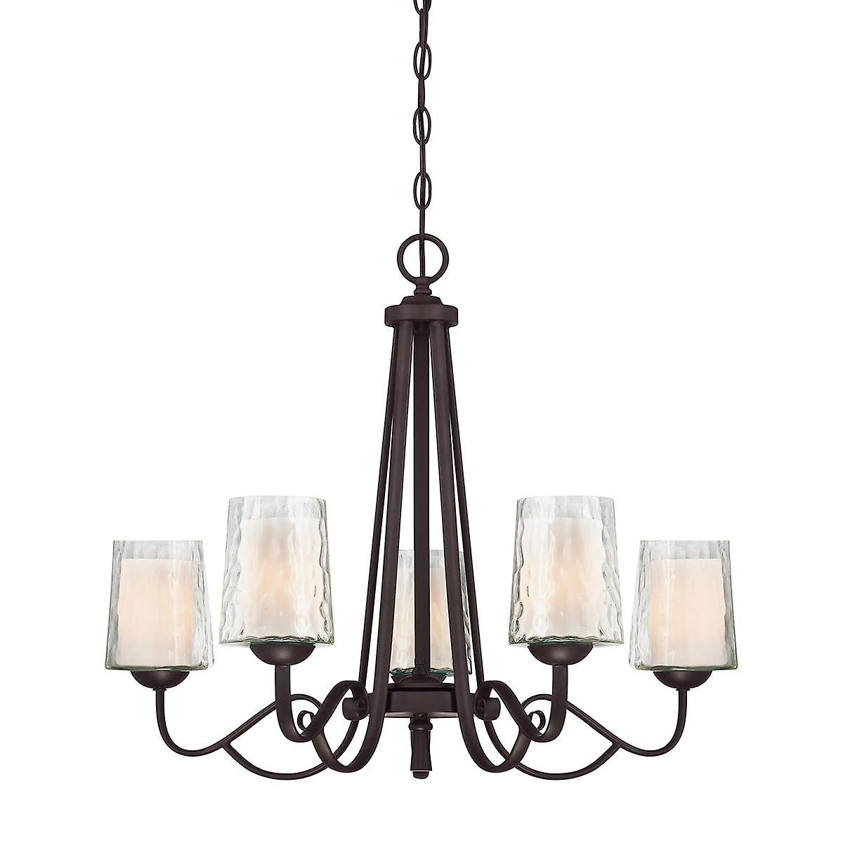 Adonis Five Light Chandelier - Elstead Lighting Qz   QZ ADONIS5