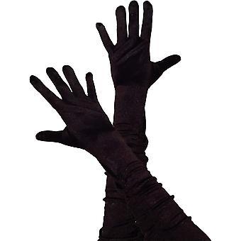 Opera guantes niño negro