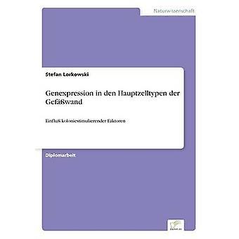 Genexpression in den Hauptzelltypen der Gefwand par Lorkowski & Stefan