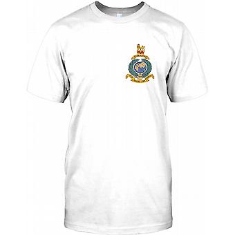 Royal Marine Globe And Laurel - Gibralter - Chest logo Mens T Shirt