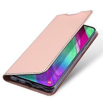 DUX DUCIS Pro Series pouch Samsung Galaxy A40-Rose Gold