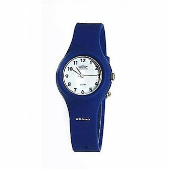 Umbro Watch Water Resistant Boys Analogue Blue Strap Sports Watch D407