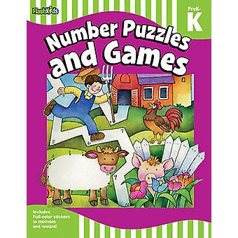 Number puzzles and games - Grade Pre-K-K by Flash Kids Editors - 97814