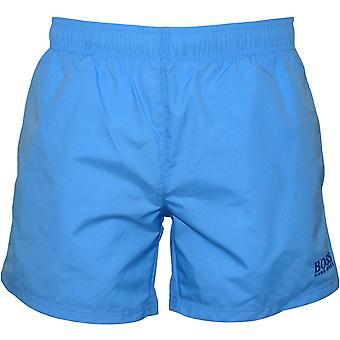 Shorts de bain Boss perche, bleu océan