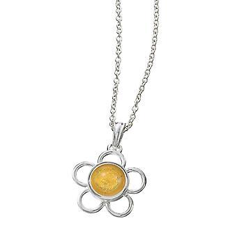 KAMELEON JewelPop Round Wire Flower Silver Pendant KP35