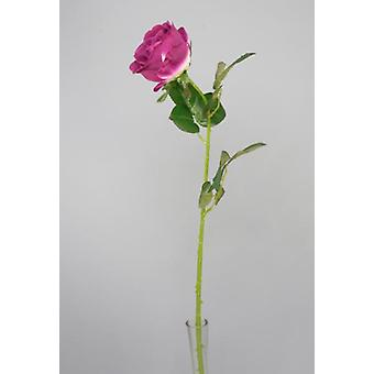 Artificial Silk Lara Rose Single Head