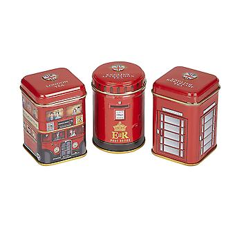 Traditions of britain triple tea selection mini tin gift pack