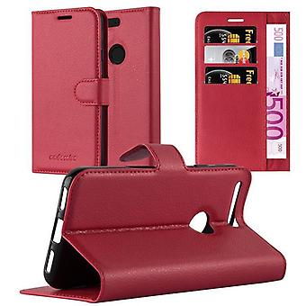 Cadorabo Case for Google Pixel XL Case Cover - Phone Case with Magnetic Closure, Stand Function and Card Case Compartment - Case Cover Case Case Case Case Book Folding Style