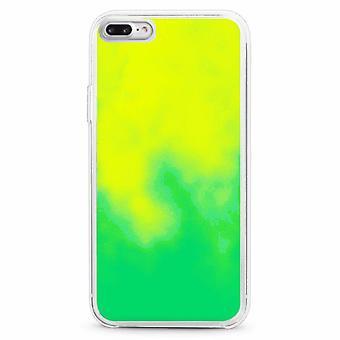 Sag CoolSkin flydende neon TPU til iPhone 8 plus/7 plus/6 plus grøn