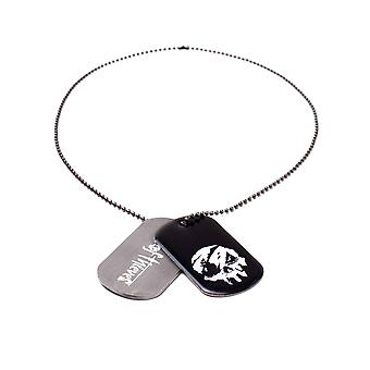 Sea Of Thieves Dog Tags Skull Logo new Official gamer Grey and Black
