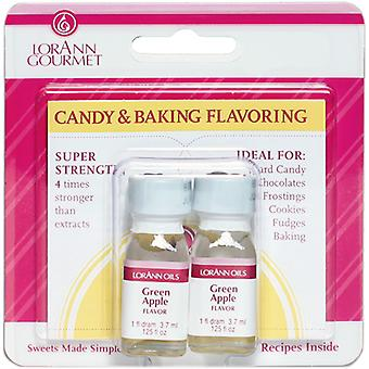 Candy & Baking Flavoring .125Oz Bottle 2 Pkg Green Apple Flavor 0900