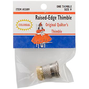 Raised Edge Thimble Size 9 Sst 9
